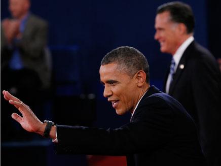 הצביע בהצבעה מוקדמת. אובמה, ארכיון (צילום: AP)