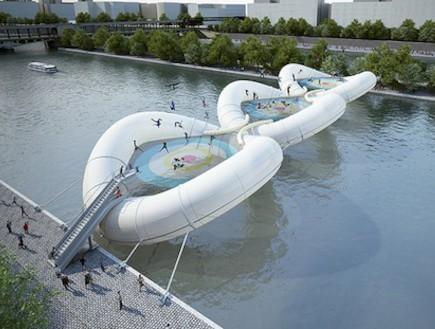 גשר טרפלוניה בפריז (צילום: designtaxi.com)