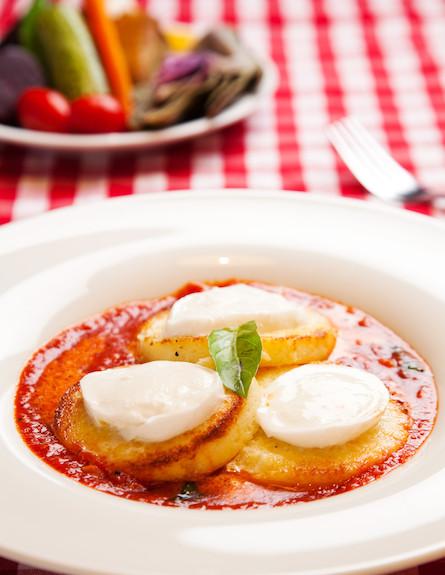 ניוקי א לה רומנה של מסעדת טופולינו, ירושלים (צילום: דניאל לילה,  יחסי ציבור )