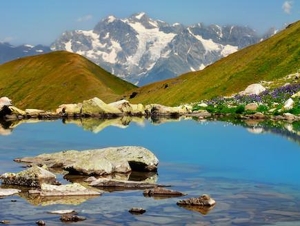 הנוף בגיאורגיה (צילום: משרד התיירות הגאורגי)