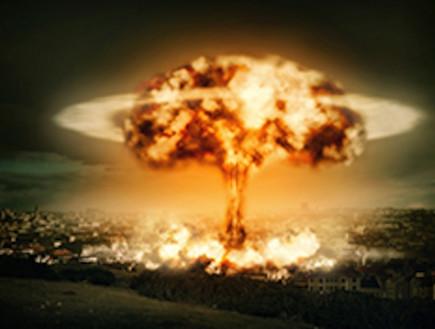 הדמייה של פיצוץ פצצת אטום