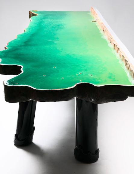 שולחן אגם gaetano pesce (צילום: john rohrer)