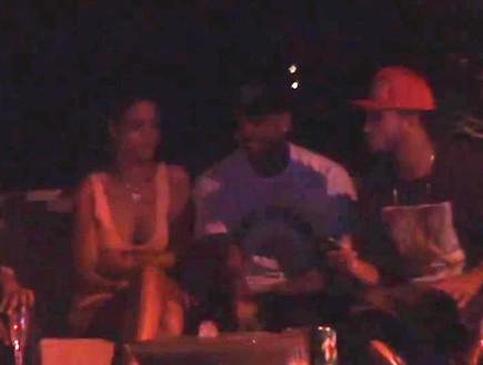 ריהאנה וכריס בראון ביחד