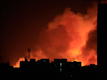 פיצוץ סודן (צילום: חדשות 2)