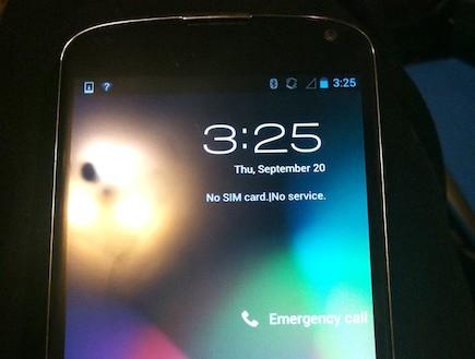 אבטיפוס של ה-Nexus 4