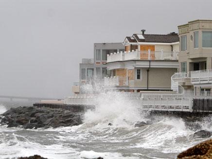 הוריקן סנדי (צילום: חדשות 2)