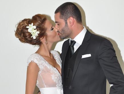 חתונה צבי פורטל (צילום: צ'ינו פפראצי)