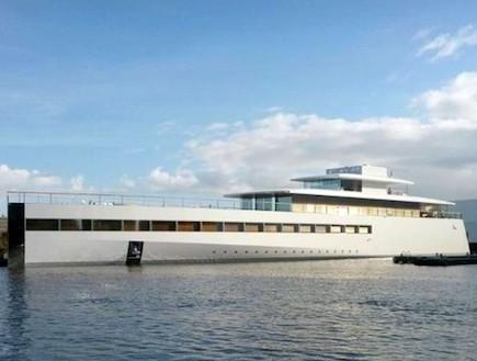 ספינה, סטיב ג'ובס (צילום: onemorething.nl)