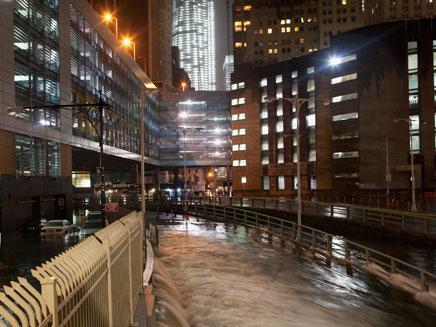 ניו יורק מוצפת (צילום: רויטרס)