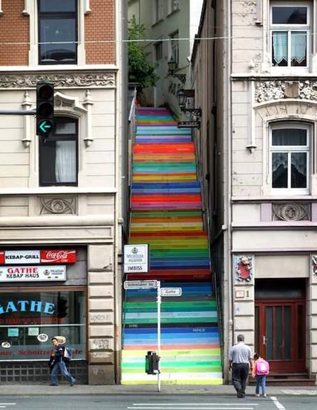 מדרגות קשת (צילום: מתוך האתר: artofmiami.com)