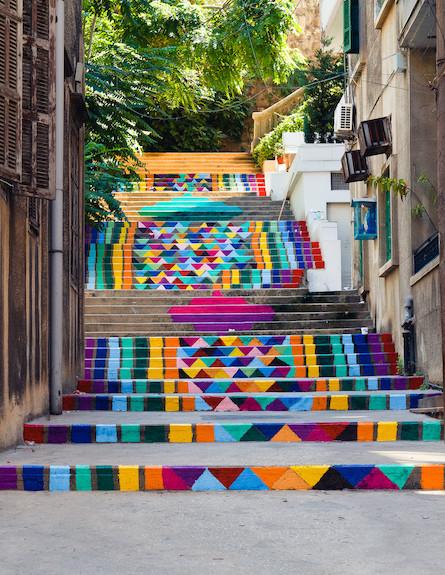 מדרגות משלושים (צילום: מתוך האתר streetartutopia.com)