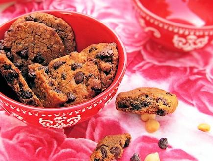 עוגיות שוקולד צ'יפס חומוס (צילום: דליה מאיר, קסמים מתוקים)