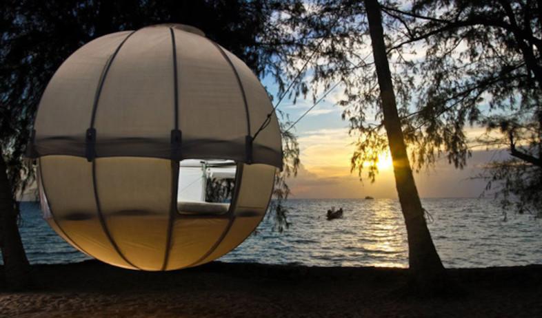 אוהל 1 - (צילום: מתוך -www.thecoolist.com)