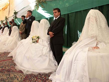 חתונה מדליקה מידי (צילום: AP)