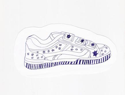 עיצוב הנעל של הילי גפן