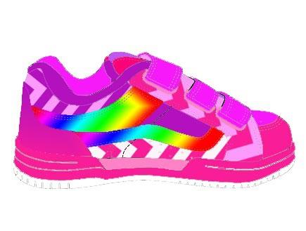 עיצוב הנעל של בר שביב