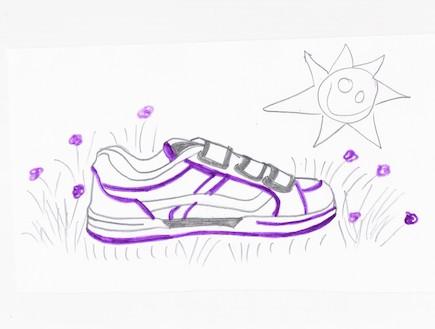 עיצוב הנעל של שחר ארכה