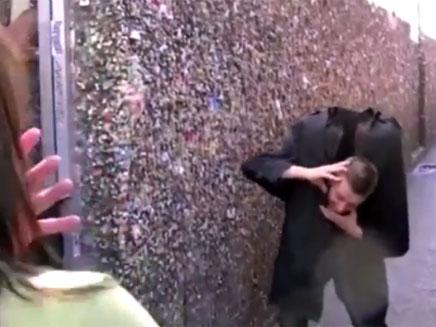 פרגוסון בעל העיטוש המפתיע (צילום: יוטיוב)