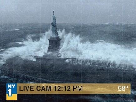 תמונות מזויפות של הוריקן סנדי