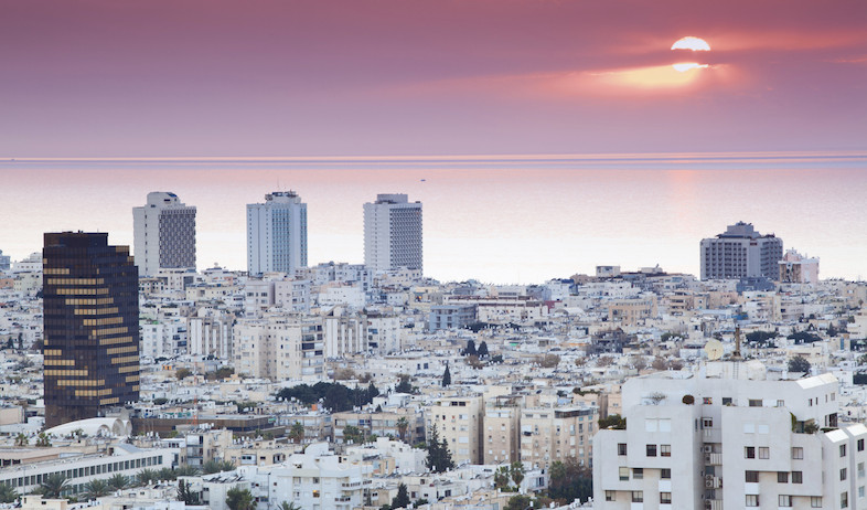 תל אביב, קו הרקיע (צילום: אימג'בנק / Thinkstock)