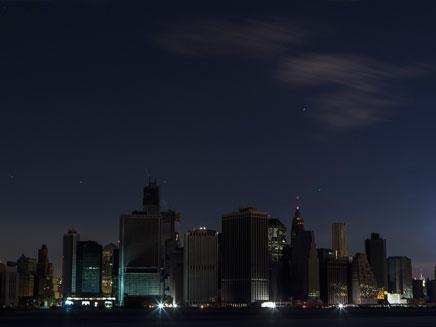 ניו יורק: קו רקיע בלי חשמל (צילום: רויטרס)