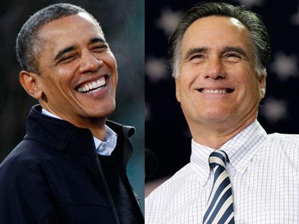 מי יצחק אחרון? אובמה ורומני (צילום: רויטרס, AP)