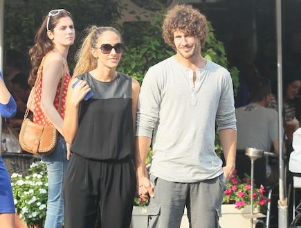 איילה רשף וטומי אלתגר נשואים וצמודים (צילום: ראובן שניידר )