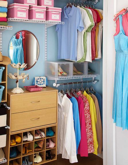 מראה בארון (צילום: מתוך האתר bhg.com)