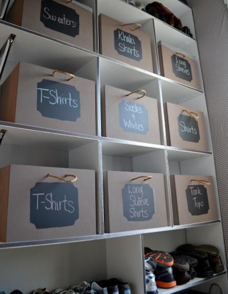 קופסאות איחסון (צילום: מתוך האתר: IMPERFECTLYPOLISHED.COM)