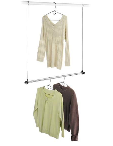 חולצות (צילום: מתוך האתר www.home-organize.co.il)
