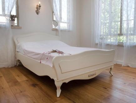 פרקט בחדר שינה