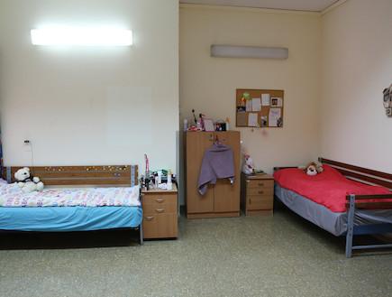 חדר מגורים במחלקה בתל השומר
