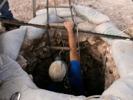 הבאר שהתגלתה (צילום: רשות העתיקות)