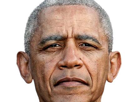 כך ייראה אובמה בעוד ארבע שנים? (צילום: Bussines Week)