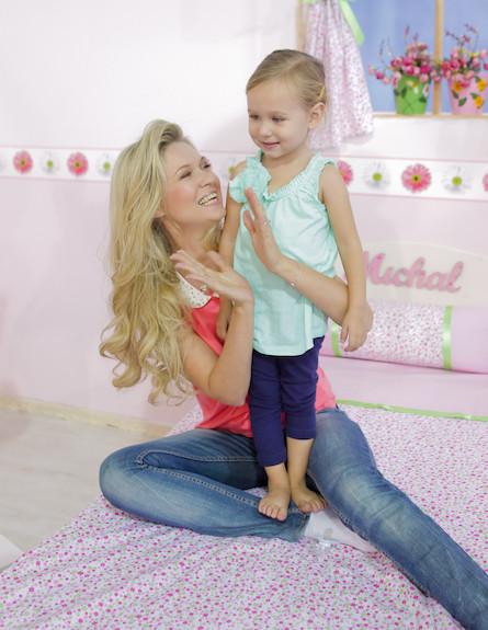מיכל ינאי והבת אלכס בקמפיין משותף (צילום: שוקה כהן)