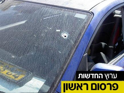 """הרכב שבו נורה אטיאס ז""""ל (צילום: חדשות 2)"""