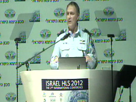 """המפכ""""ל מכריז על הקמת יחידת הסייבר (צילום: חדשות 2)"""