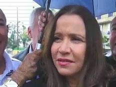 יחימוביץ' בביקור בנתיבות, הבוקר (צילום: חדשות 2)