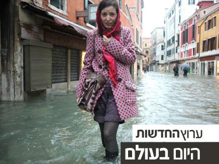 וונציה שוקעת בחיוך (צילום: רויטרס)