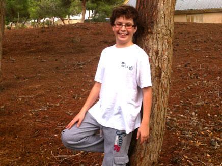 כסלו בן ה-13. מציאות קשה (צילום: משפחת לוי)