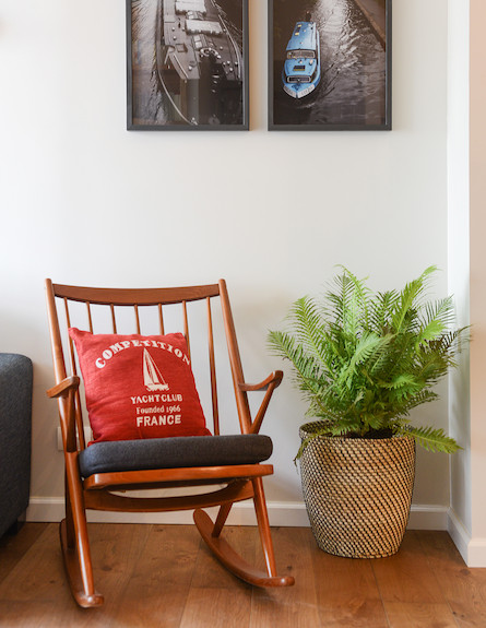 כיסא נדנדה (צילום: אביב קורט)