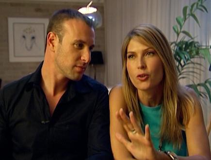 הצצה לראיון הזוגי עם דפנה ויובל צלנר (תמונת AVI: mako)