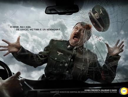 היטלר נדרס בתאונת דרכים