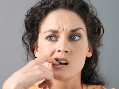 אישה מבולבלת
