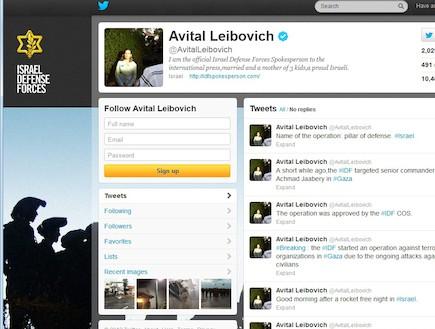 טוויטר אביטל ליבוביץ
