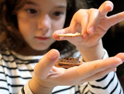 פטיפור שוקולד - ההכנה