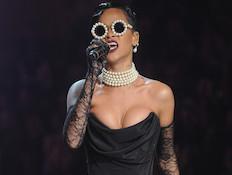 ריהאנה, ויקטוריה סיקרט (צילום: Jamie McCarthy, GettyImages IL)