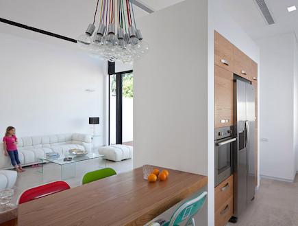 הרשאגה אדריכלים- מבט למטבח