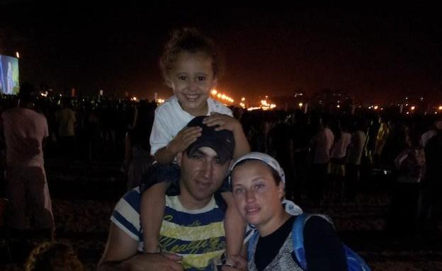 אולגה טולדנו ומשפחתה
