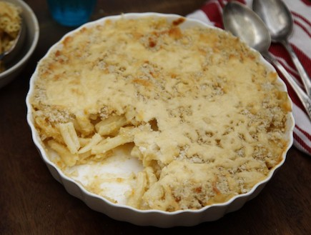 מקרוני עם מלא גבינה (צילום: אפיק גבאי, אוכל טוב)